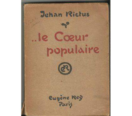 Photos Vivastreet Jehan RICTUS Le coeur populaire (1914)