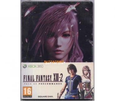 Photos Vivastreet STEELBOOK PACK PRECOMMANDE XBOX 360 NEUF - FINAL FANTASY XII