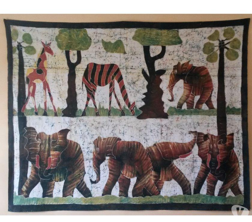 Photos Vivastreet Batik africain 190 x 150 cm