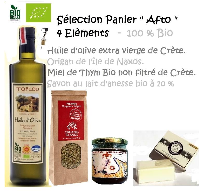 "Vins - Gastronomie Gironde Bordeaux - Photos Vivastreet Sélection Made In Med 100% Bio ""Afto"" 4 Elèments"
