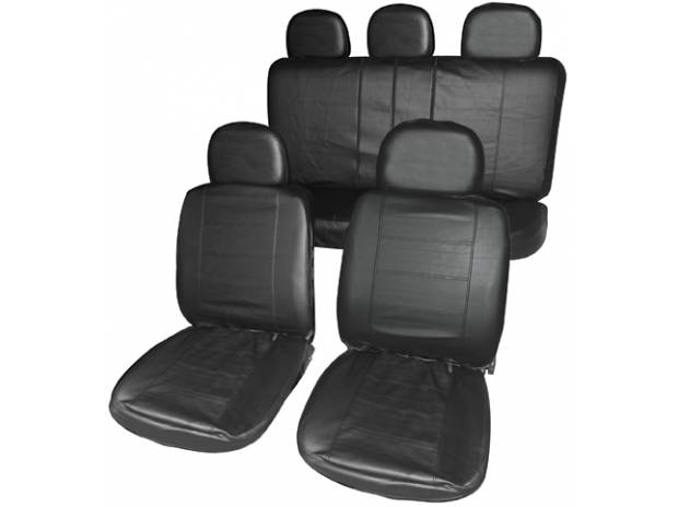 pi ces accessoires auto housses sieges sur mesure simili cuir pour dacia duster. Black Bedroom Furniture Sets. Home Design Ideas