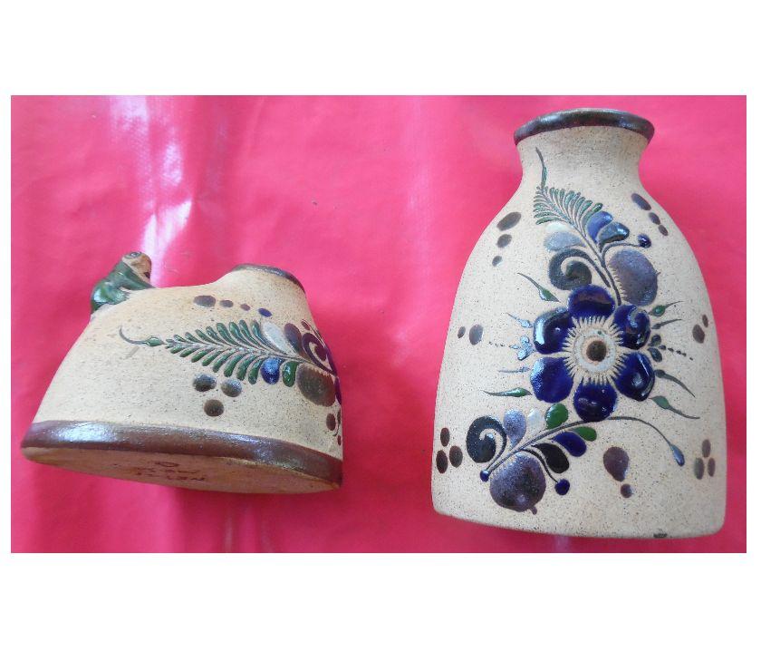 Décoration - art Hérault Castries - 34160 - Photos Vivastreet Poteries du Mexique signées NETZI MEX T et NETZI MEX O vinta