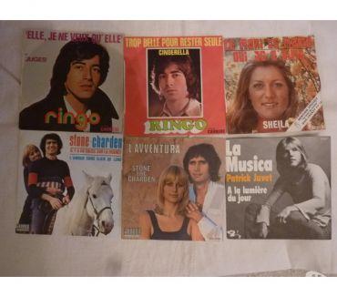 Photos Vivastreet Vinyles 45t Ringo-StoneCharden-Sheila-Juvet