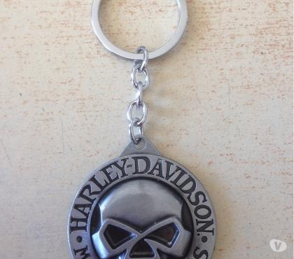 Photos Vivastreet porte clé biker logo harley metal diam. 4,5 cm