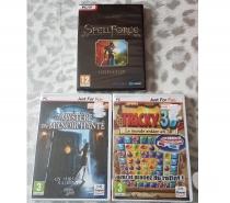 Photos Vivastreet Lot de 3 jeux video pour pc