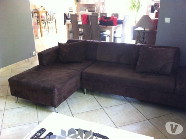 photos vivastreet canap avec m ridienne gauche. Black Bedroom Furniture Sets. Home Design Ideas