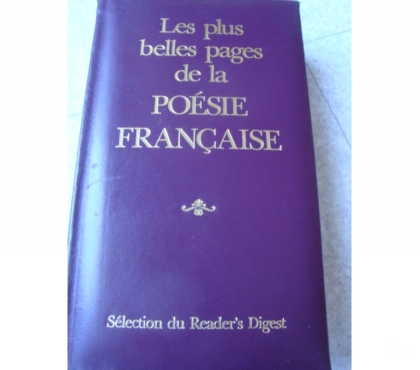 Photos Vivastreet LES PLUS BELLES PAGES DE LA POESIE FRANCAISE