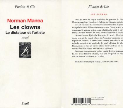 Photos Vivastreet Les clowns - Le dictateur et l'artiste