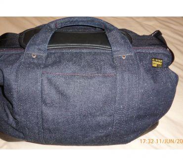 Photos Vivastreet magnifique sac de voyage G- star raw , jean et cuir