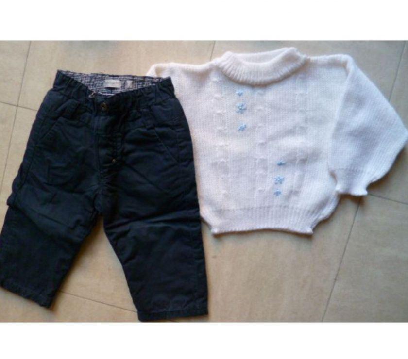 Photos Vivastreet 1 an - pantalon, cardigan, 2 pulls - zoe