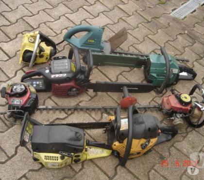 Photos Vivastreet tronçonneuse pour pièces/ réparation affutage