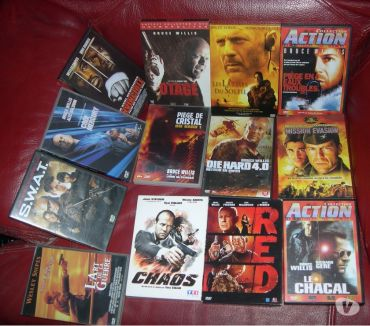 Photos Vivastreet COLLECTION FILMS ACTIONS BRUCE WILLIS