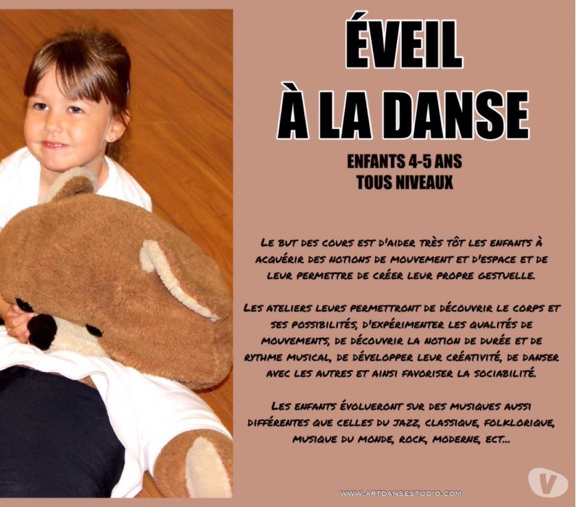 Photos Vivastreet Sarrebourg Éveil Initiation à la danse.
