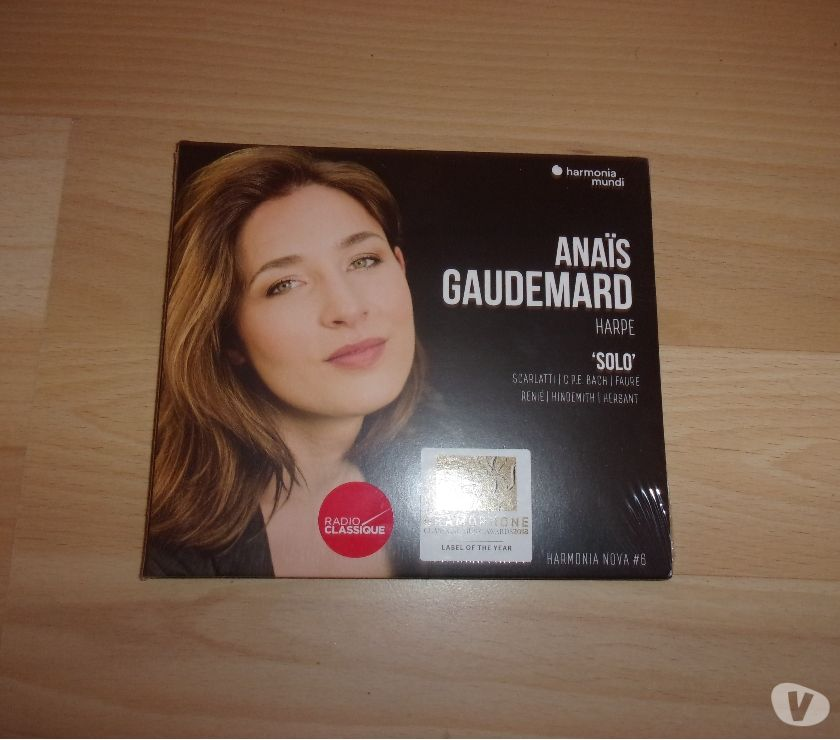 Photos Vivastreet CD Solo d'Anaïs Gaudemard (Neuf)