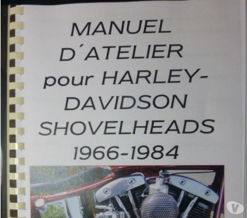 Pièces et services moto Vienne Mignaloux Beauvoir - 86550 - Photos Vivastreet Traduction manuel atelier Harley Shovelhead 1966-84