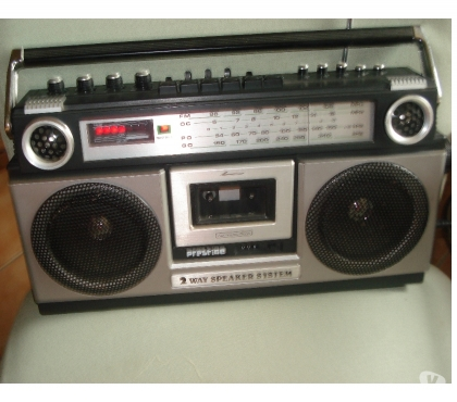 Photos Vivastreet Radio cassette portable PRESTIGE BOX 2 x 2W