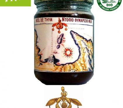Photos Vivastreet Miel d'Abeille 100% Naturel Bio - Thym de Crète Bocal 0,500g