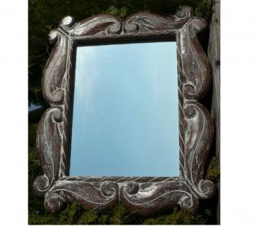 Photos Vivastreet Miroir VERTICAL (59 x 49 x 3 cm) cérusé