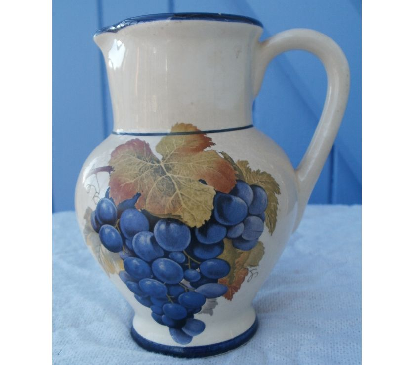 Photos Vivastreet Pot - pichet raisins Faïence didier BLANCHARD0N