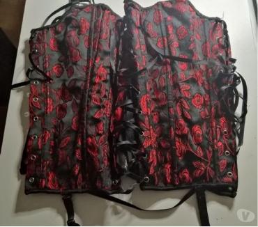 Photos Vivastreet Top : Bustier A Lacets & Jarretelles SANSELLE Taille 44 Neuf