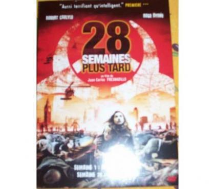 Photos Vivastreet DVD 28 semaines plus tard thriller guerre fantastique film c
