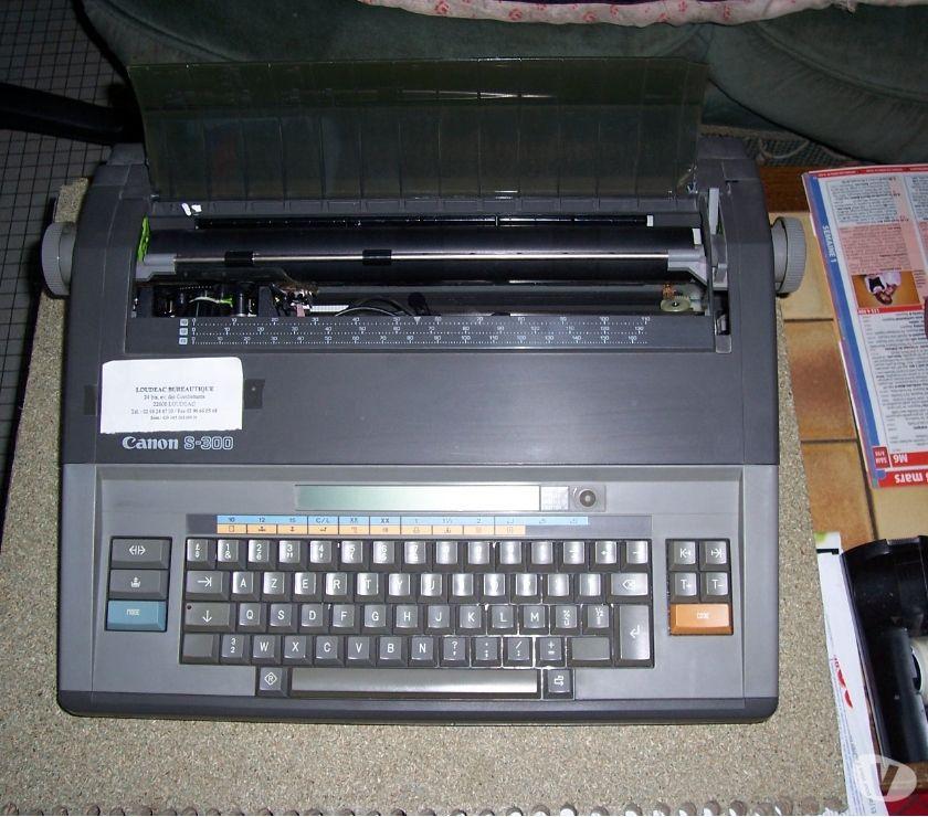 Photos Vivastreet MACHINE A ECRIRE ELECTRONIQUE CANON S 300