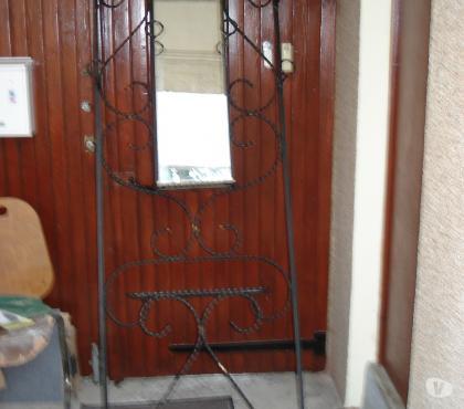 Photos Vivastreet Porte manteau mural art déco en fer forgé