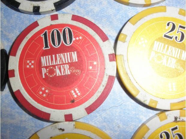 Photos Vivastreet Jetons millénium poker