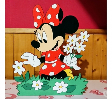 Photos Vivastreet Lampe de chevet minnie en bois