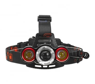 Photos Vivastreet lampe frontale T6 LED zoomable