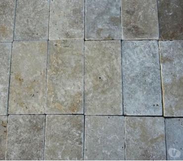 Photos Vivastreet Travertin Classique Beige Pavé 30x15 cm REF 562