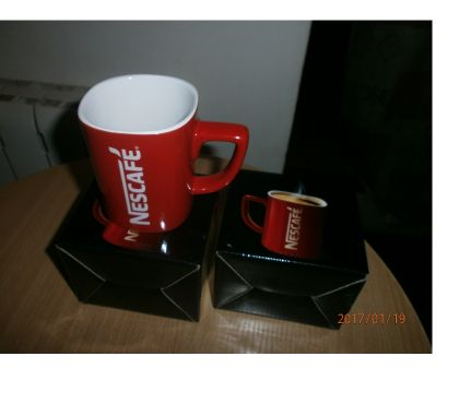 Photos Vivastreet Lot de 2 tasses Nescafé