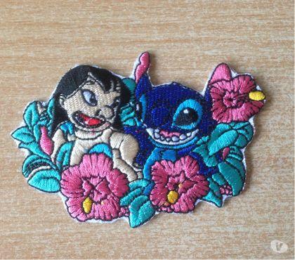 Photos Vivastreet écusson lilo et stitch thermocollant 8x6 cm