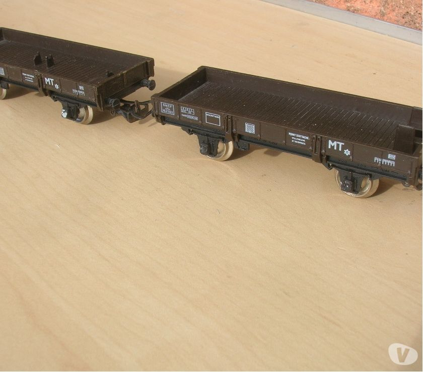 Photos Vivastreet Train HO Jouef lot Wagons pour GRUE