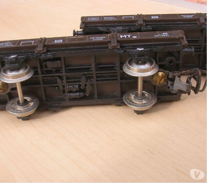 Photos Vivastreet Train HO Jouef lot Wagons pour GRUE