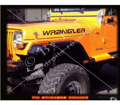 Photos Vivastreet Sticker de capot Wrangler pour JEEP ®. Livrés par paires