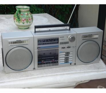 Photos Vivastreet Poste Radio cassette GhettoBlaster PHILIPS D8438
