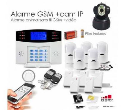 Photos Vivastreet Alarme GSM animal XXL et camera IP
