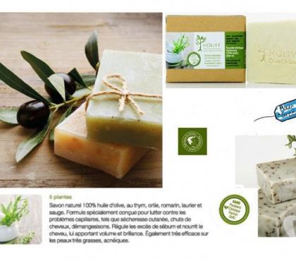 Photos Vivastreet Savon naturel 100% H.Olive aux 5 Plantes - 120gr