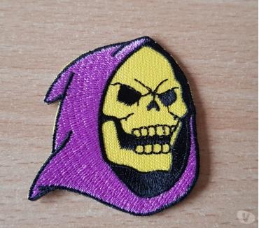 Photos Vivastreet Ecusson brodé Skeletor maitres de l'univers 5,5x5 cm