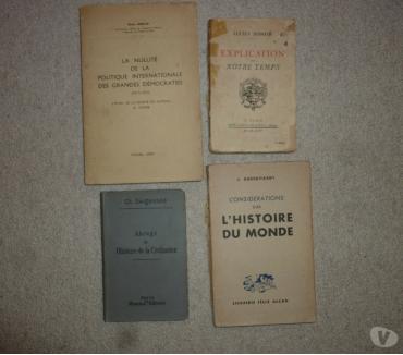Photos Vivastreet 4 livres histoire - politique