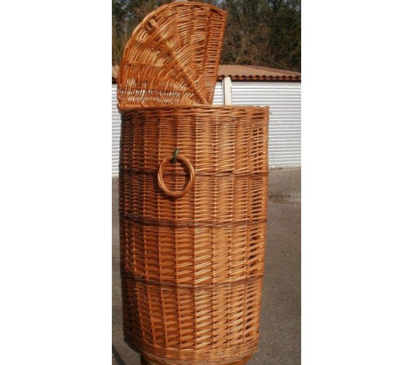 Photos Vivastreet Huche à pain en osier hauteur 70 cm