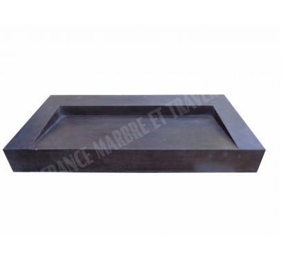 Photos Vivastreet Basalte Noir Évier Design 100x50x12 cm Adoucie 900€ HT