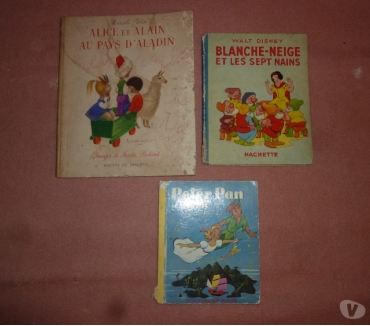 Photos Vivastreet 2 anciens livres Walt Disney
