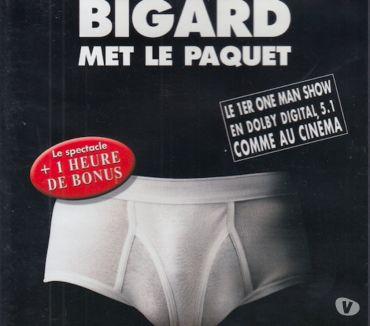 Photos Vivastreet DVD Bigard Met Le Paquet - Enregistré au Bataclan Paris