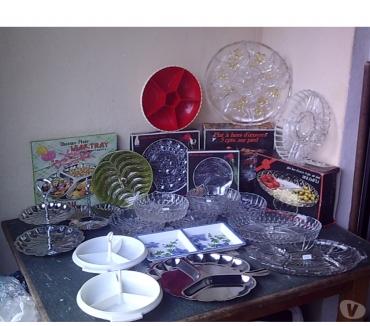 Photos Vivastreet Vaisselle à Hors d'Oeuvre ou divers (Plats, Coupes...)