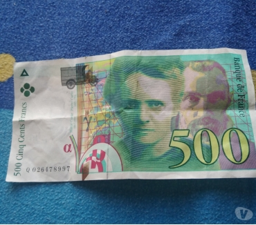 Photos Vivastreet Billet de 500 francs