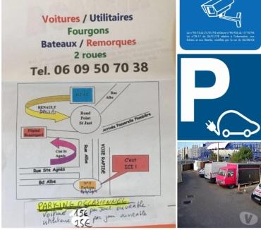 Photos Vivastreet Place parking tous véhicules sans limite de hauteur 13004