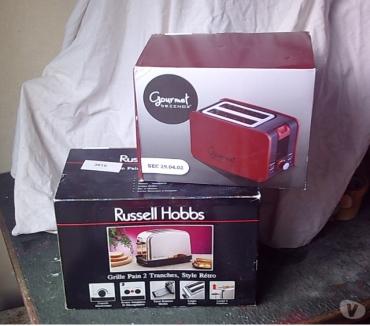 Photos Vivastreet Grille-Pain Double-Toaster (Neufs) à 18 € pièce