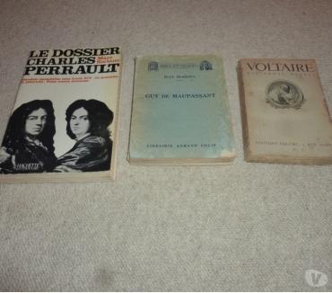 Photos Vivastreet 3 livres chacun sur un auteur